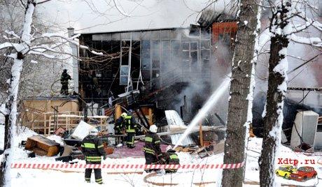 Взрыв в итальянском ресторане Il Pittore на Новочеремушкинской улице в Москве