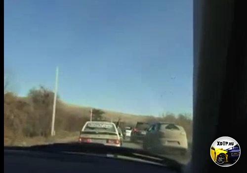 Жестко беспределят на дорогах Ингушетии
