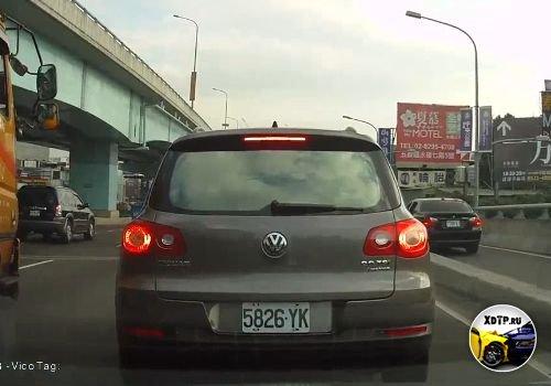 Драка на дорогах Китая