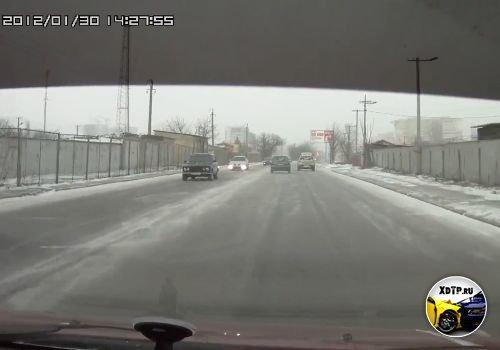 ДТП в Одессе, пр. М. Жукова. Daewoo против Renault