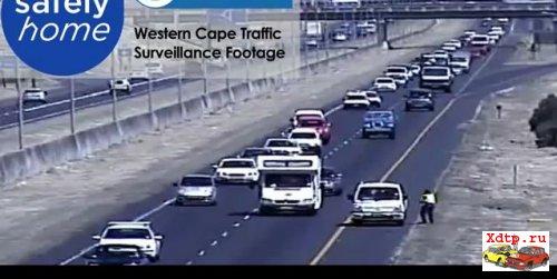 Jeep Wrangler развалило в Кейптауне