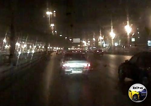 Автоподстава в Москве, Ленинградский пр. Видео из сгоняющей машины