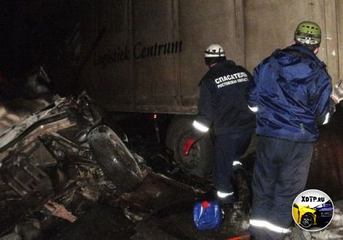 Авария на трассе Дон М-4, столкнулись ВАЗ-21065, фура MAN и Лада Приора