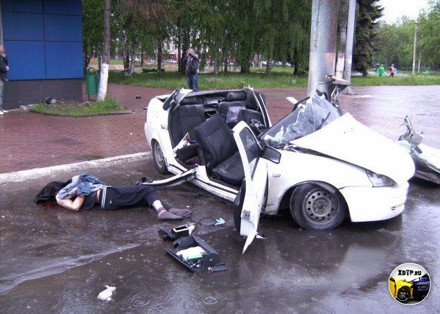аварии в твери фото и видео
