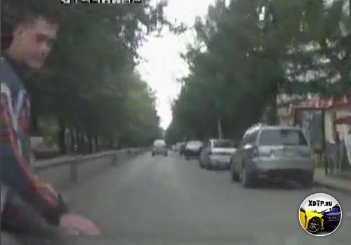 Подстава от пешехода, г. Октябрьский, республика Башкортостан