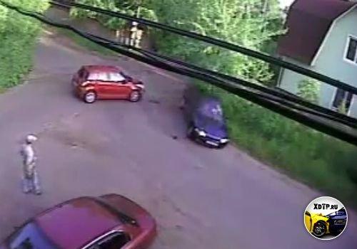 Авария в Звягино
