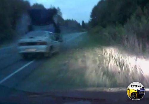 Авария на трассе Владимир-Гусь-Хрустальный, водитель Газели уснул за рулём. ЖЕСТЬ!