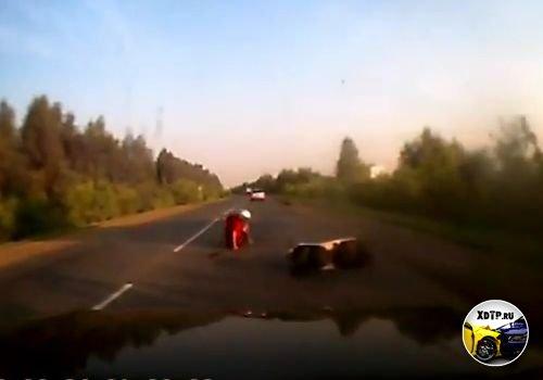 Хруст убрался на трассе Чернолучье-Омск