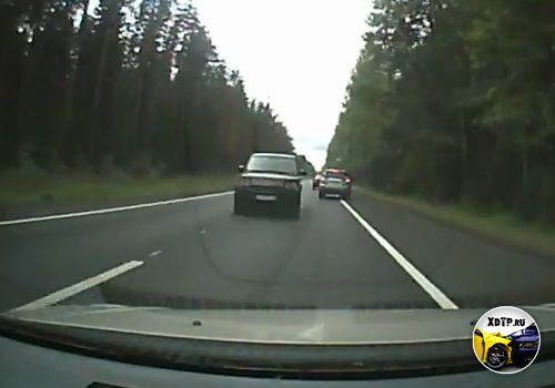 Авария на Зеленогорском шоссе Рендж Ровер вылетел на встречку