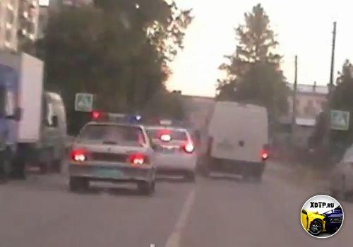 Погоня со стрельбой за пьяным водителем в г. Колпино, Санкт-Петербург