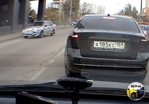 Авария в Перми пересечение ул. Стахановской и Ш.Космонавтов