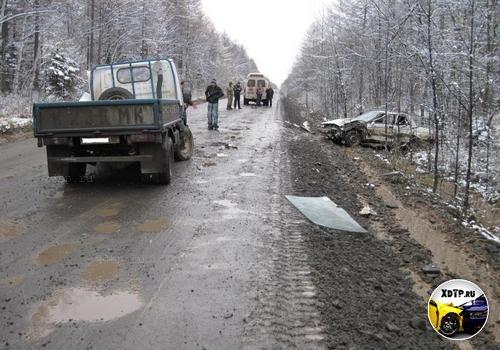На Сахалине произошло ДТП в результате незафиксированного колеса