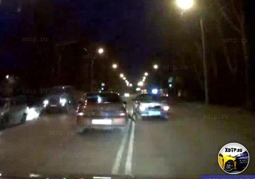Погоня за пьяным водителем в Абакане