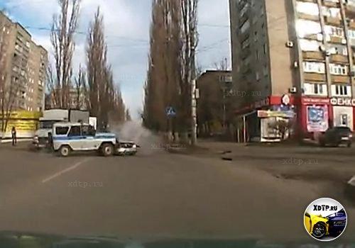 ДПС против ППС, авария в Воронеже