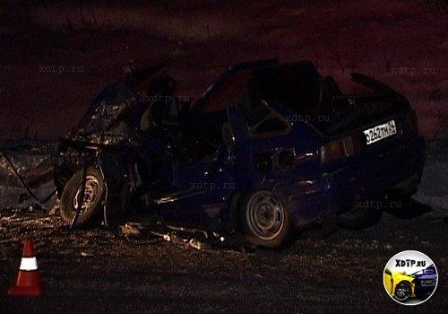 В Красноярском крае столкнулись ОДА и грузовик