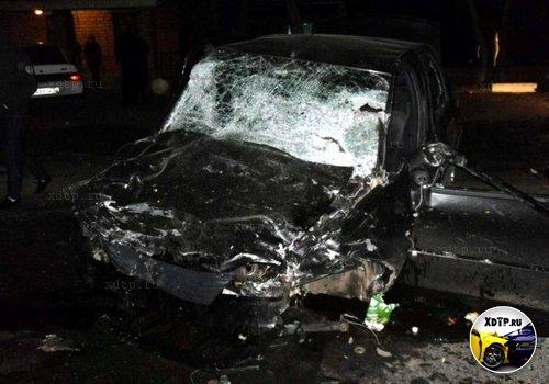 В Оренбургской области столкнулись Тойота и Рено