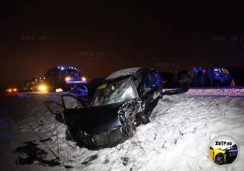 В Архангельской области две женщины пострадали в ДТП