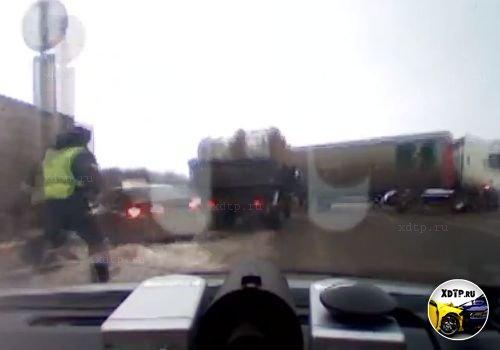 Погоня за пьяным угонщиком, в Стерлитамакском районе Башкирии