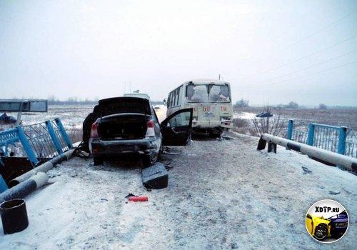Смертельное ДТП в Оренбургской области