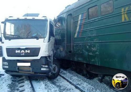 Трагедия на переезде в Свердловской области