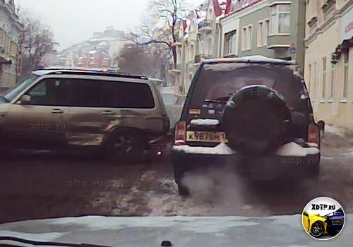 Авария во Владивостоке на ул. Светланская