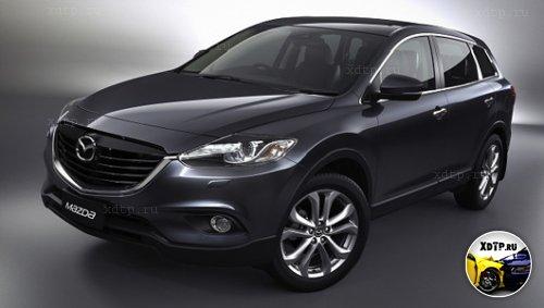 Обновленный автомобиль Mazda CX-9