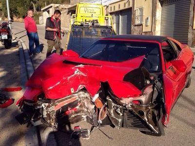 На съемках клипа Валерии разбили Ferrari...