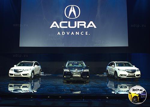 Acura TLX появится на нашем рынке к концу 2014 года