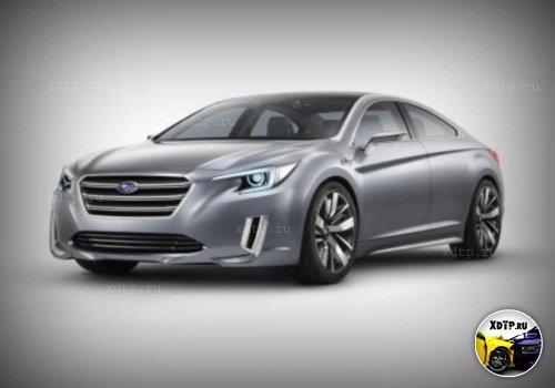 Subaru показал тизер нового седана Legacy