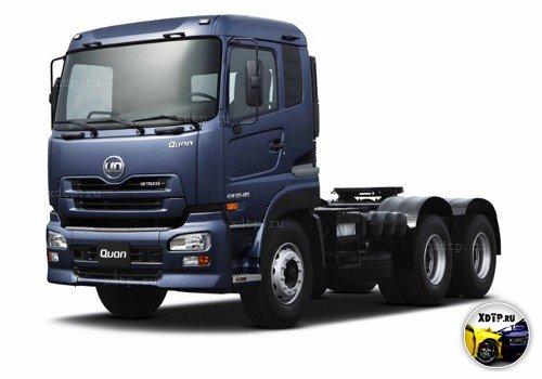 Quon – новый магистральный тягач UD Trucks