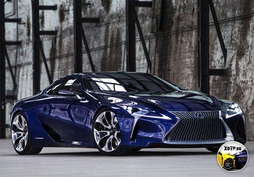 Lexus возродит имя SC для спорткупе